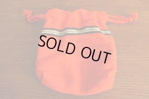 画像3: チマヨ TRUJILLO'S(トルフィリオス)巾着バッグ 赤 Sサイズ